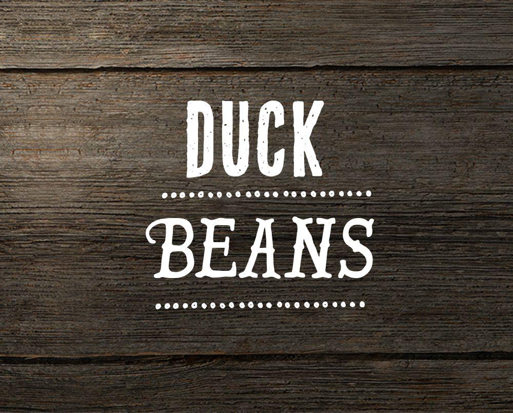Muscovy duck beans